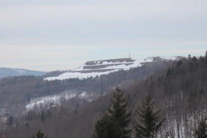 Góra Żar widziana z Kiczery