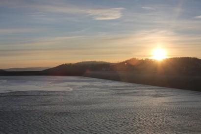 Wschód Słońca nad Górą Żar