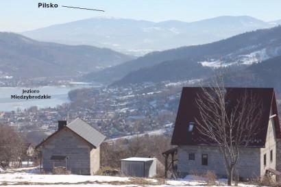 Panorama spod Hrobaczej Łąki