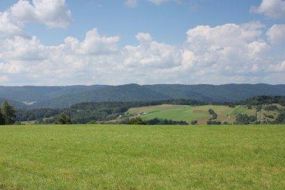Łąki, góry i lasy Beskidu Niskiego