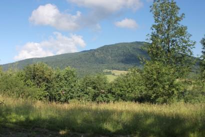 Widok na Ćwilin z Jurkowa