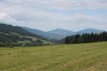 Widok z Przełęczy Glisne