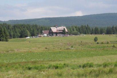 Chatka Górzystów na Hali Izerskiej