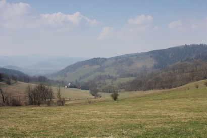 Góry Złote - Przełęcz Lądecka