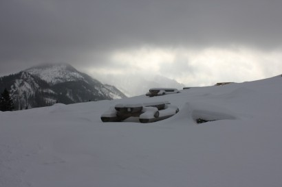 Rusinowa Polana zimą