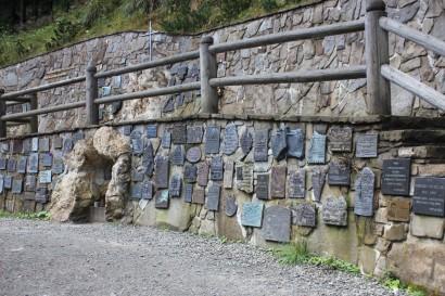Ściana Pamięci na Wiktorówkach