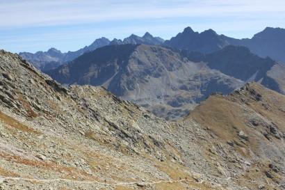 Panorama z Przełęczy Zawrat