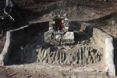 Kapliczka przy ścieżce Langiego