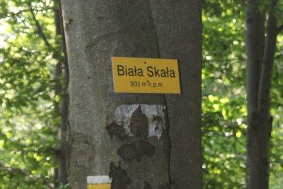 Biała Skała - 903 m n.p.m.