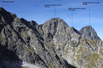 Panorama Mięguszowieckich Szczytów