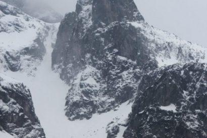 Mnich zimą