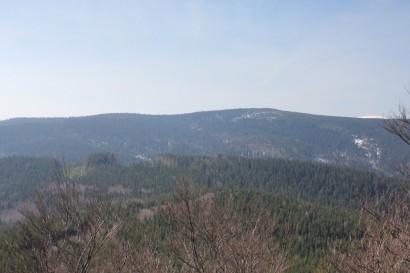Widok z Kowadła na Rudawiec