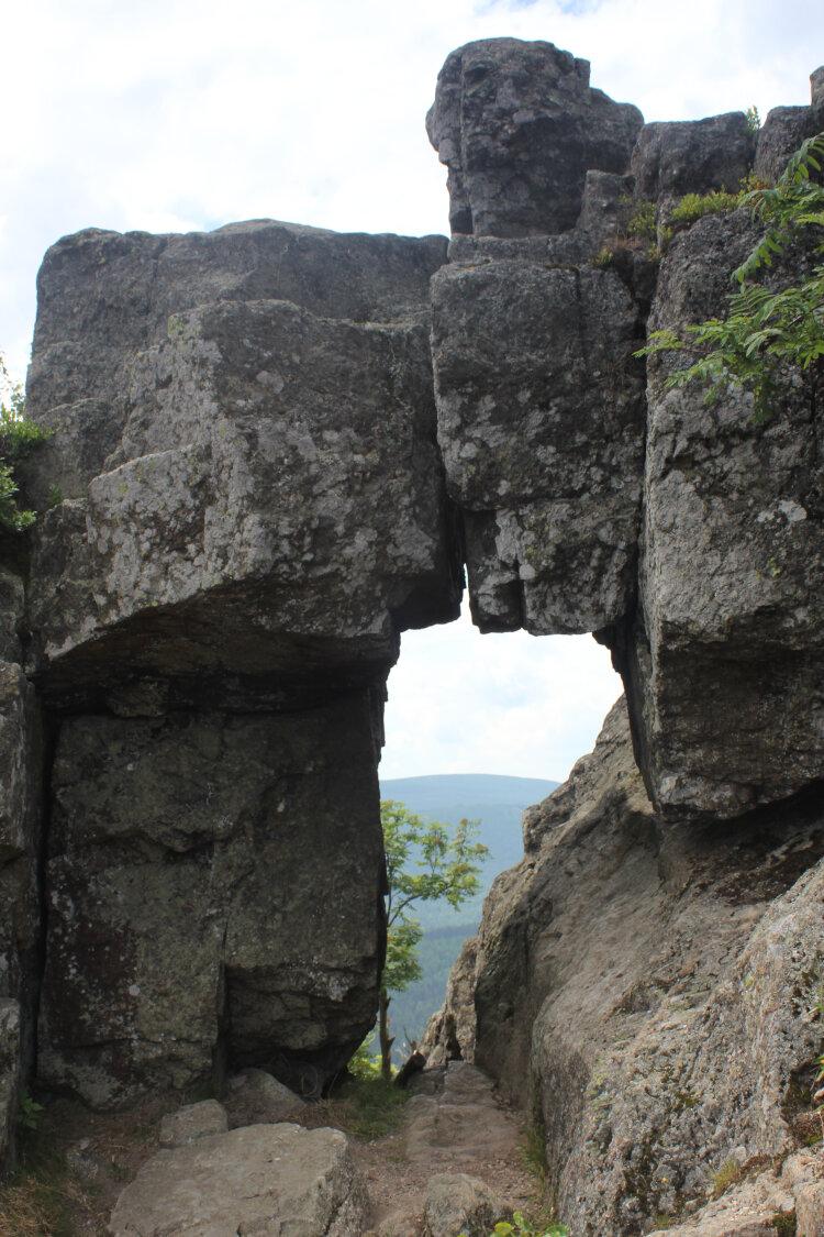 Formacje skalne na Wysokim Kamieniu