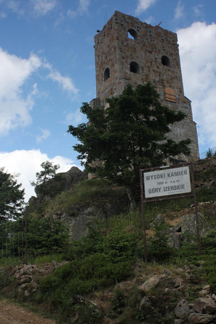 Wysoki Kamień - wieża widokowa